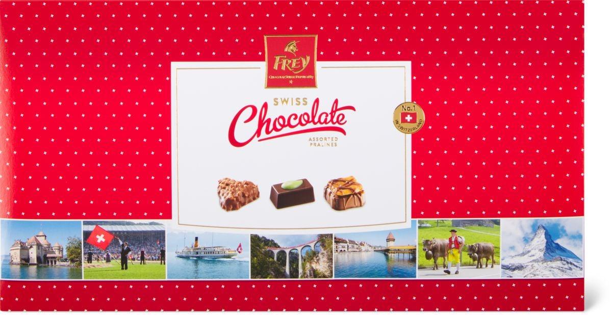 Swiss chocolate Pralinés assortis