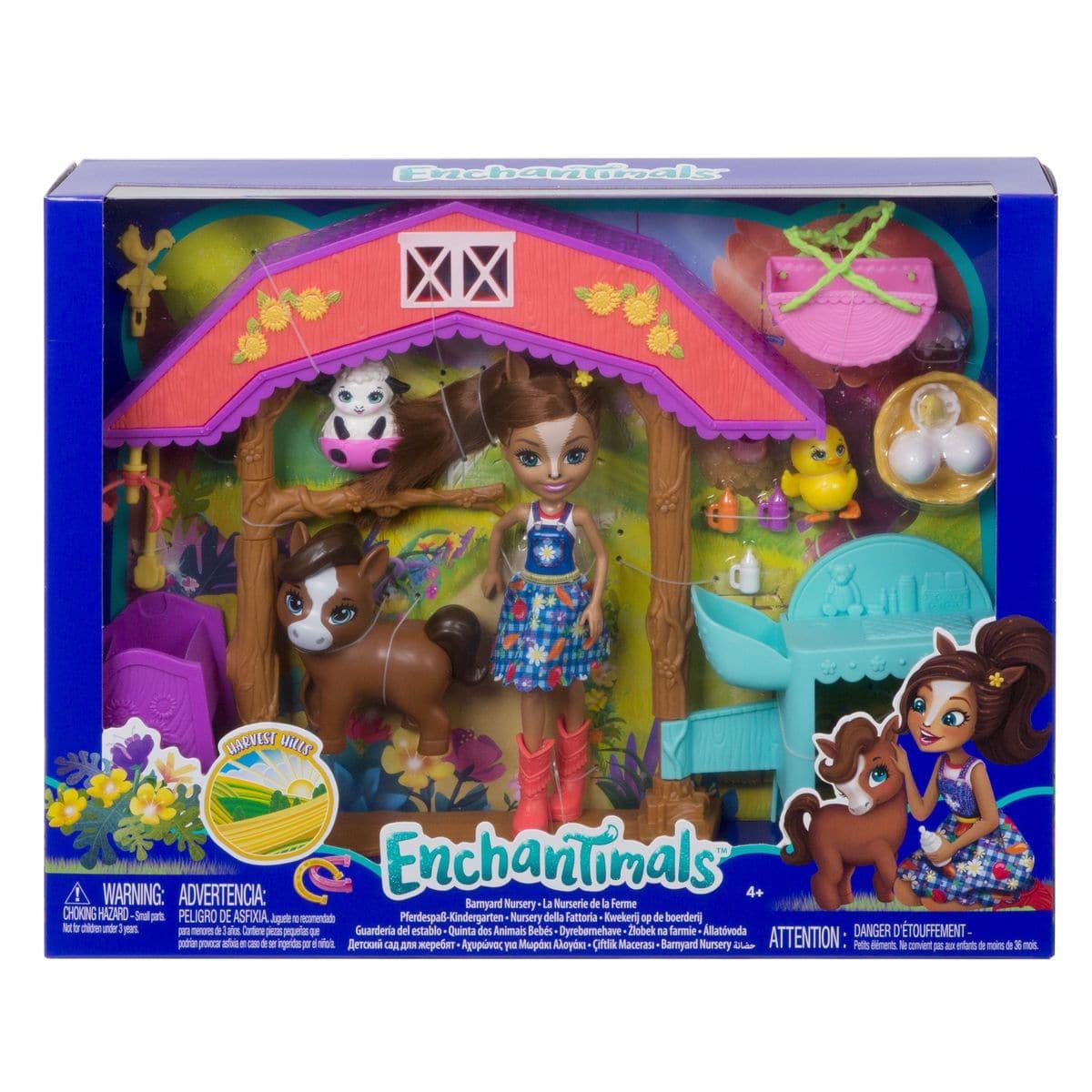 Mattel Enchantimals GJX23 la nurserie de la fe Set di bambole