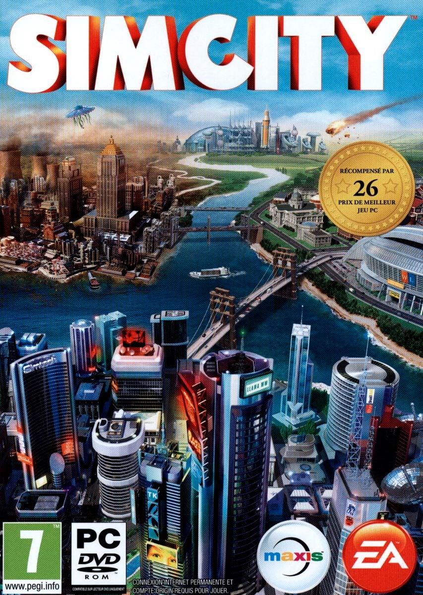 PC - Sim City 5 Box