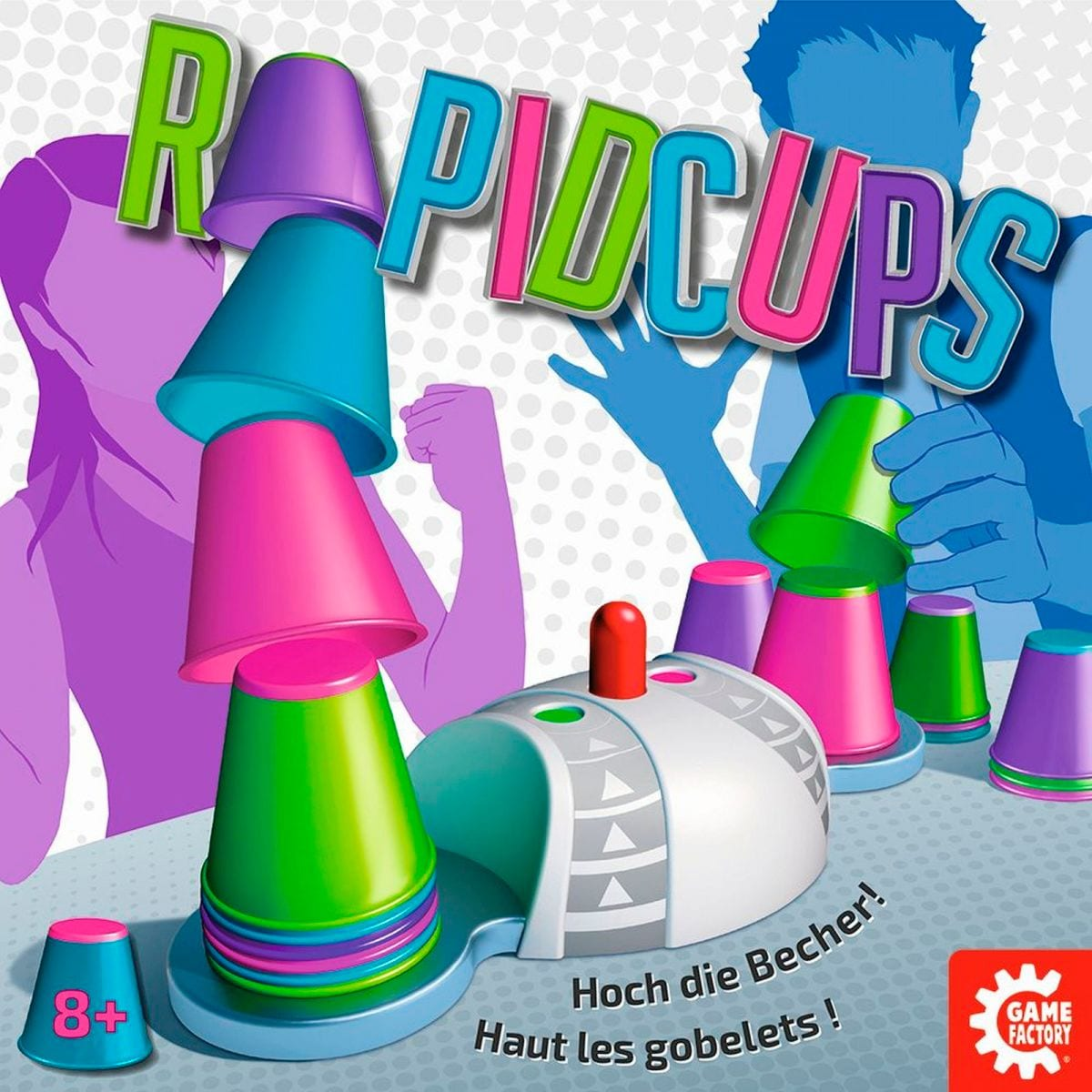Rapid Cups Gesellschaftsspiel