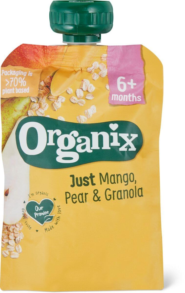 Organix Mango Pera Cerealicolo
