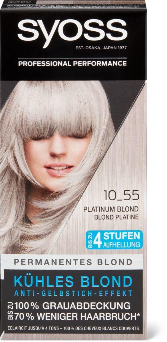 Syoss 10-55 blond platine