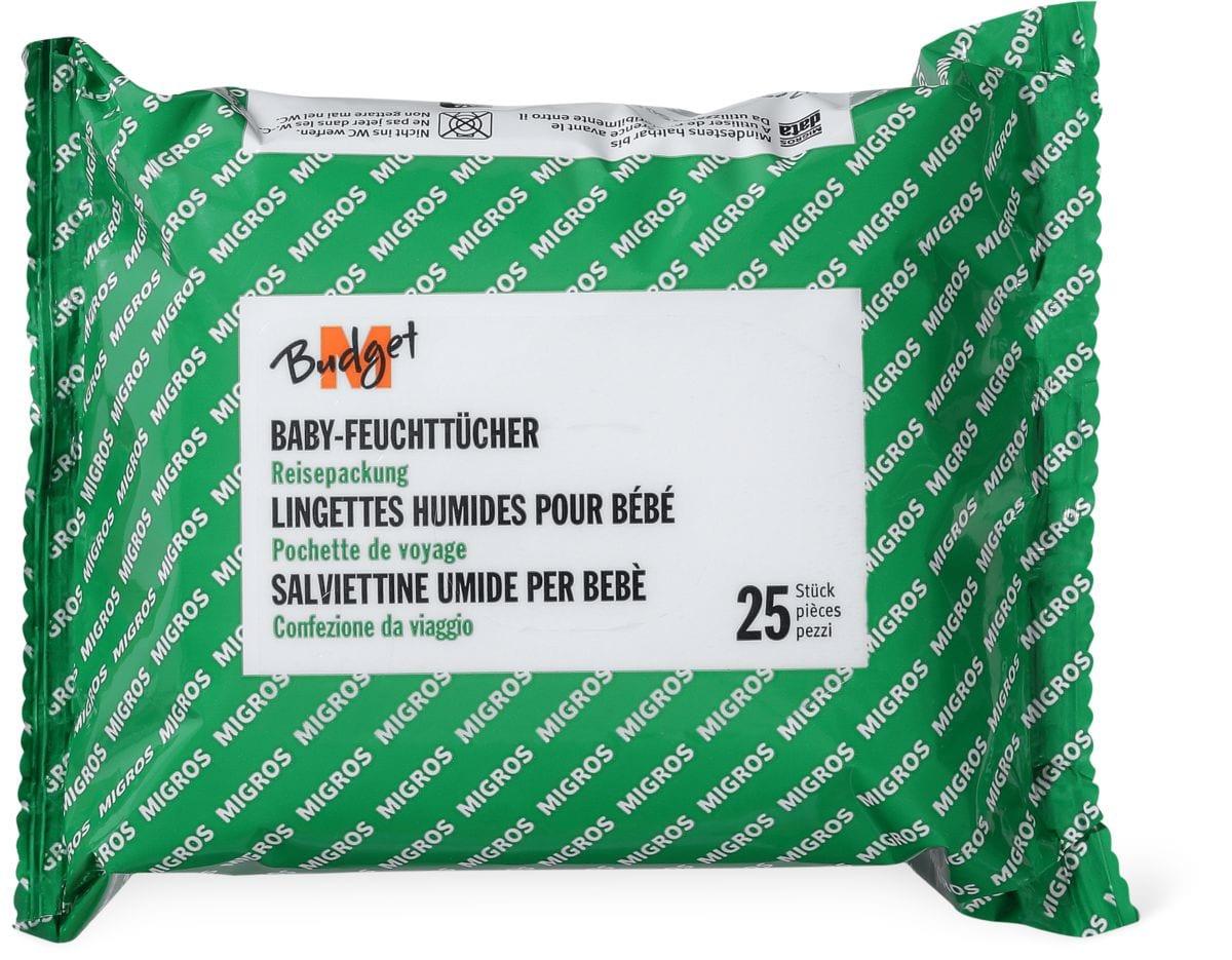 M-Budget Baby-Feuchttücher Reisepackung