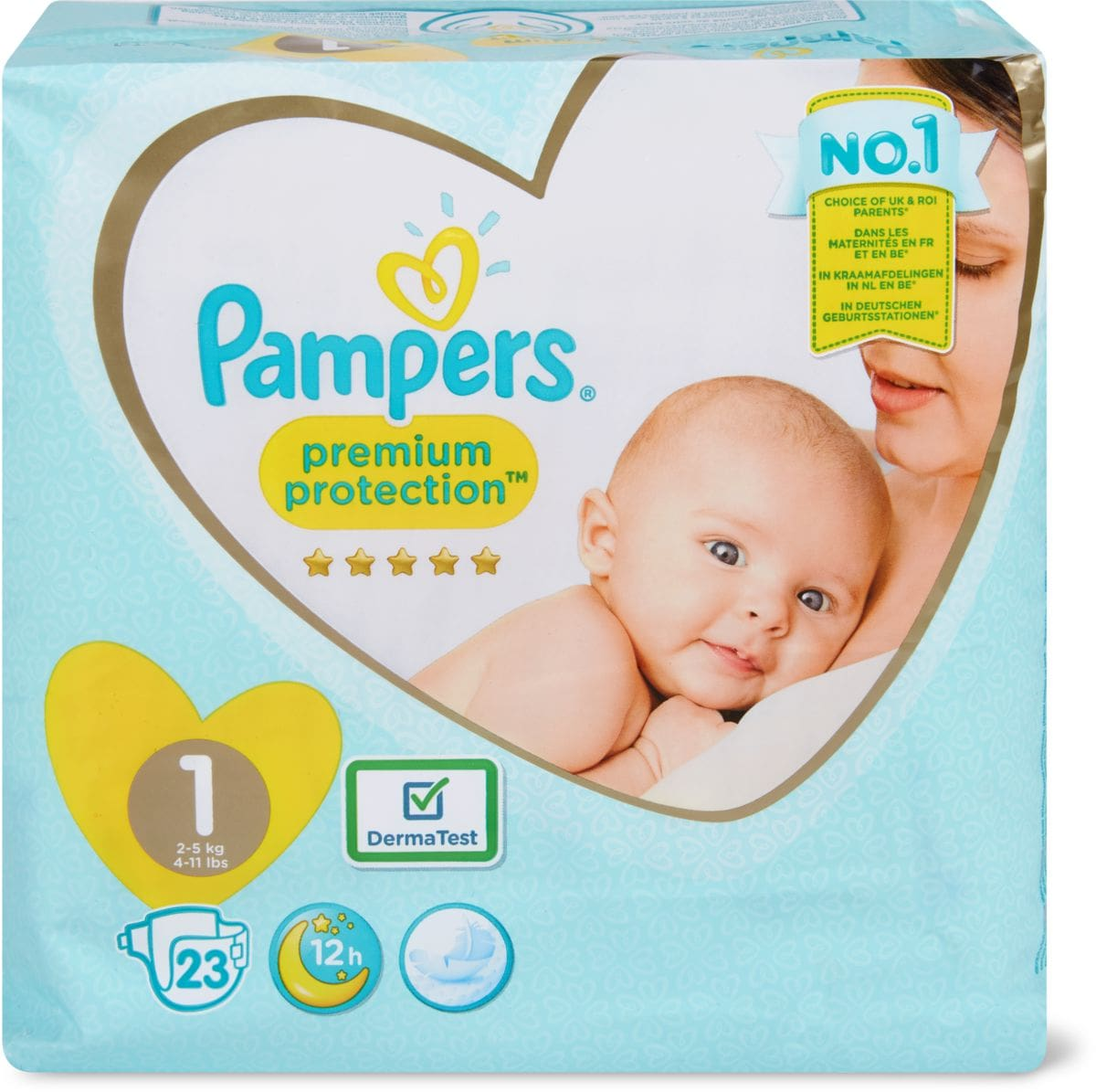 Pampers Protection New Baby Gr. 1
