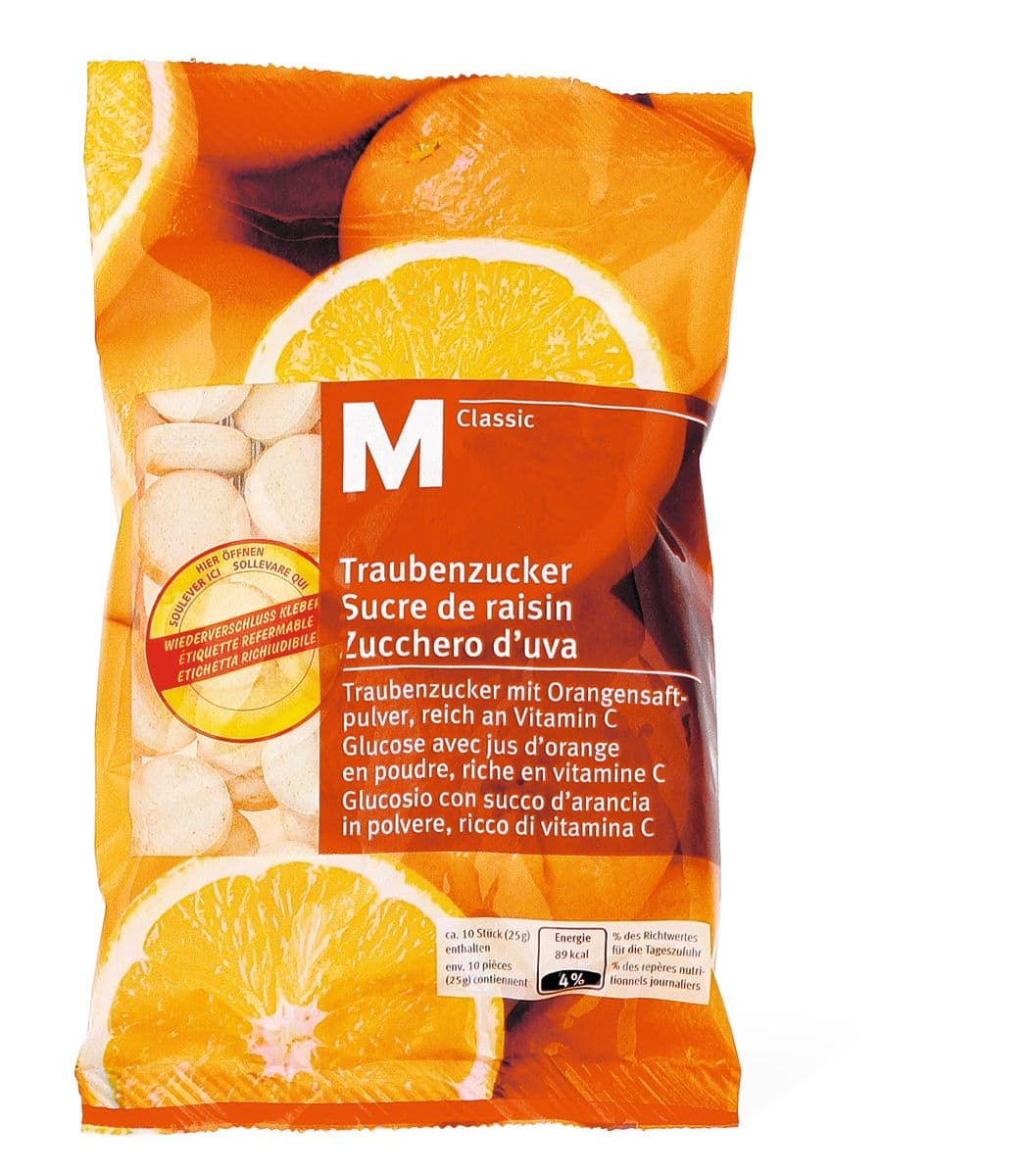 M-Classic sucre de raisin orange