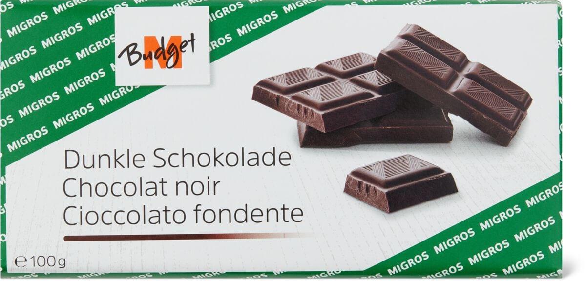 M-Budget Dunkle Schokolade