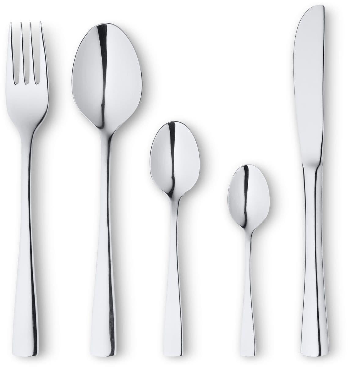 Gesamtes Cucina & Tavola Essbesteck-Sortiment