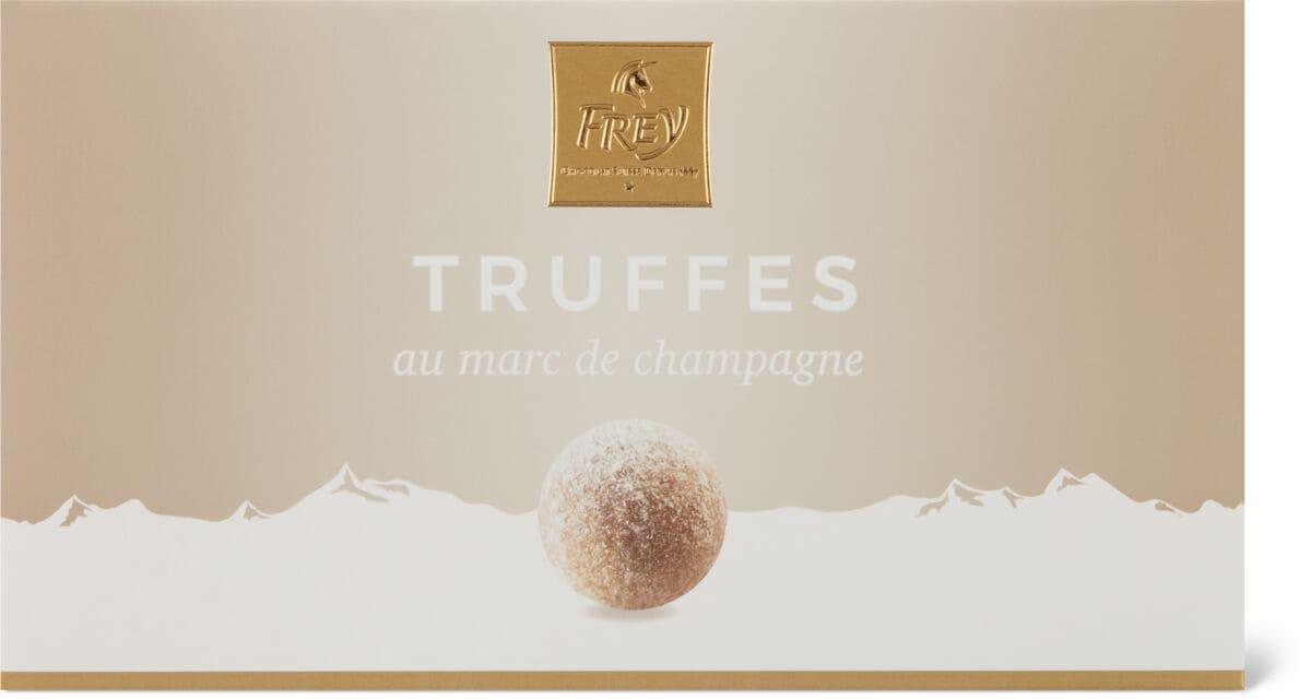 Truffes au Marc de Champagne