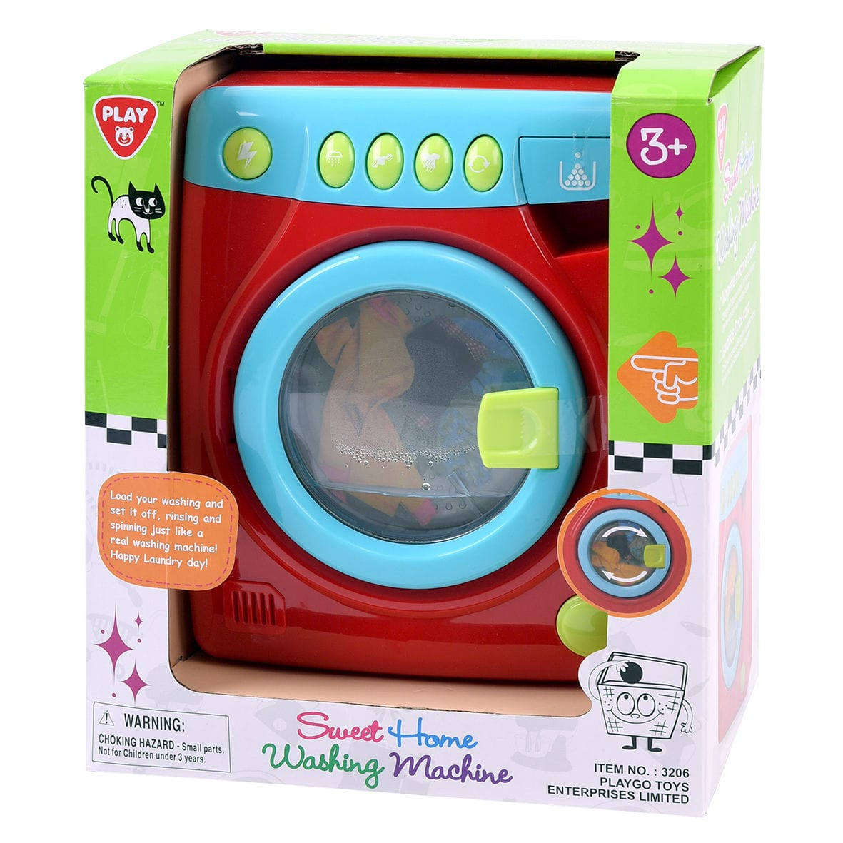Playgo Sweet Home Machine A Laver