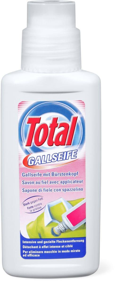 Total Gallseife mit Bürstenkopf