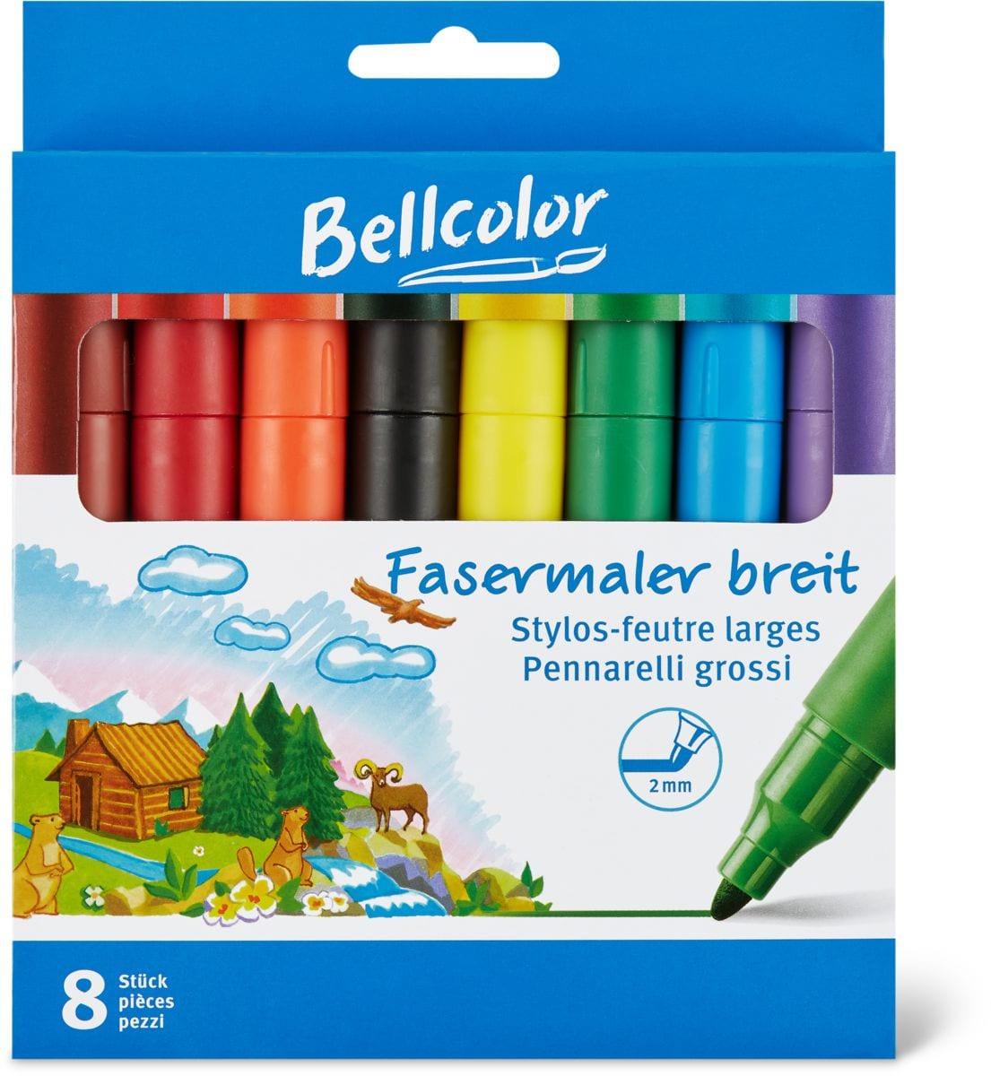 Bellcolor Stylos-feutre larges