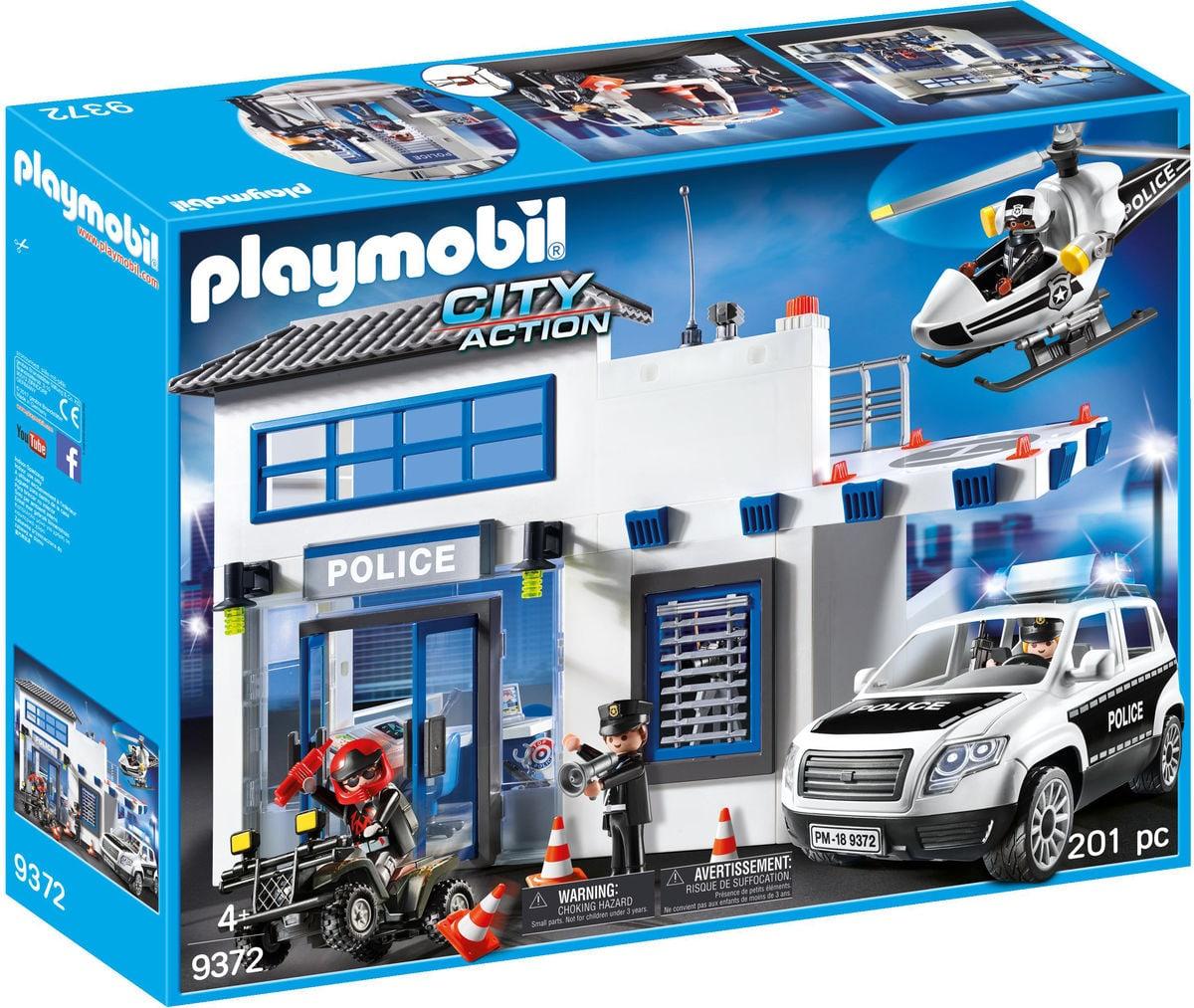 Playmobil Poste de police et véhicules