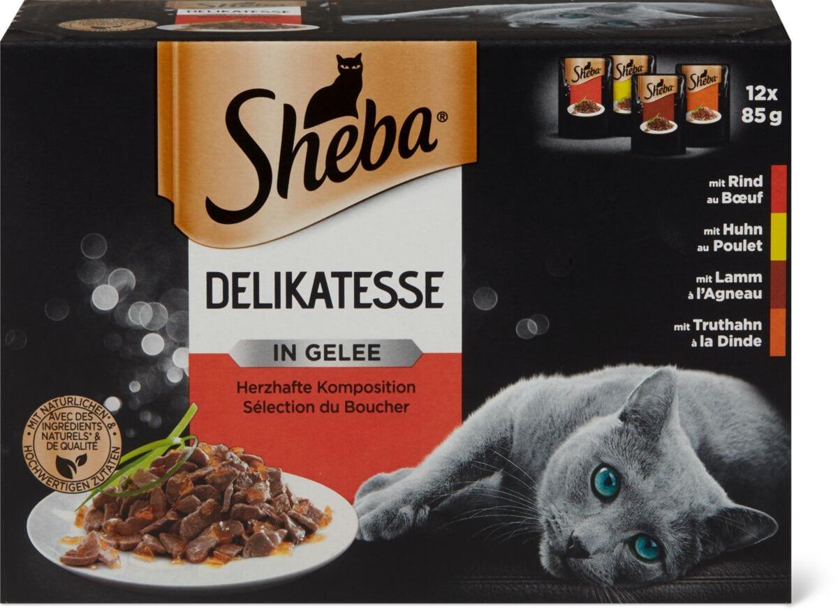 Sheba delikatesse Gelée viande