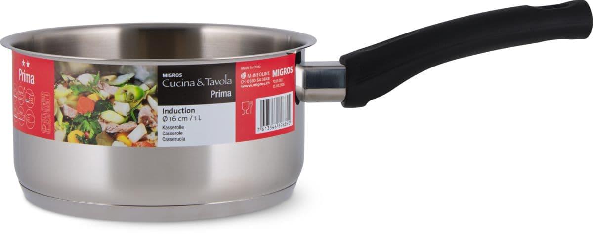 Cucina & Tavola Stielkasserolle 16cm PRIMA