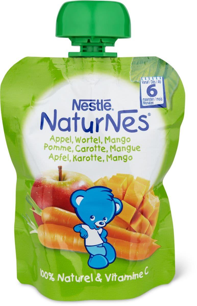 Nestlé NaturNes Quetschbeutel Apfel, Mango, Karotte