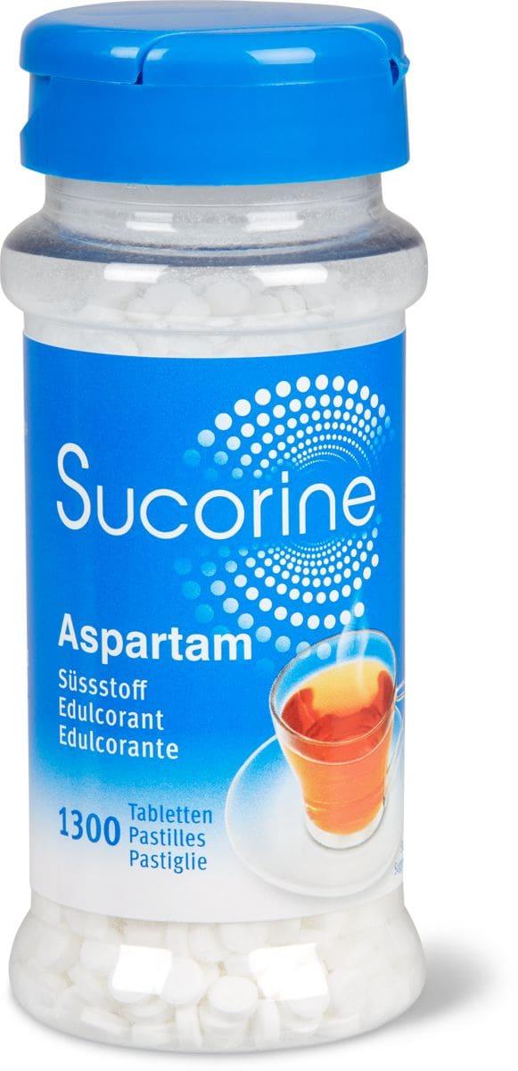Sucorine Süssstoff auf Grundl. Aspartam