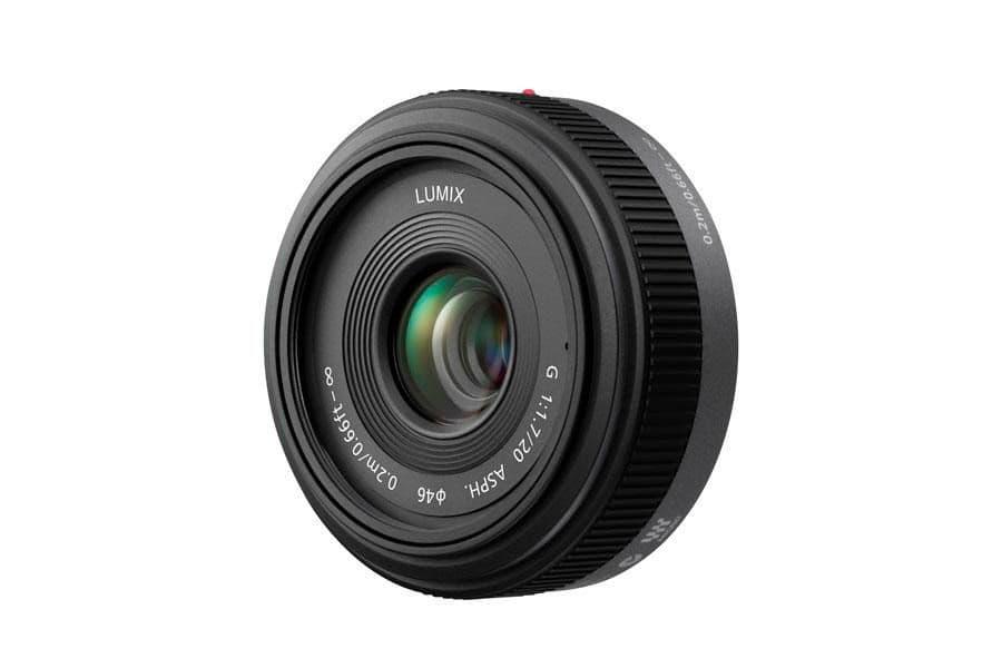 Panasonic 20mm 1.7 Pancake Objektiv Objectif