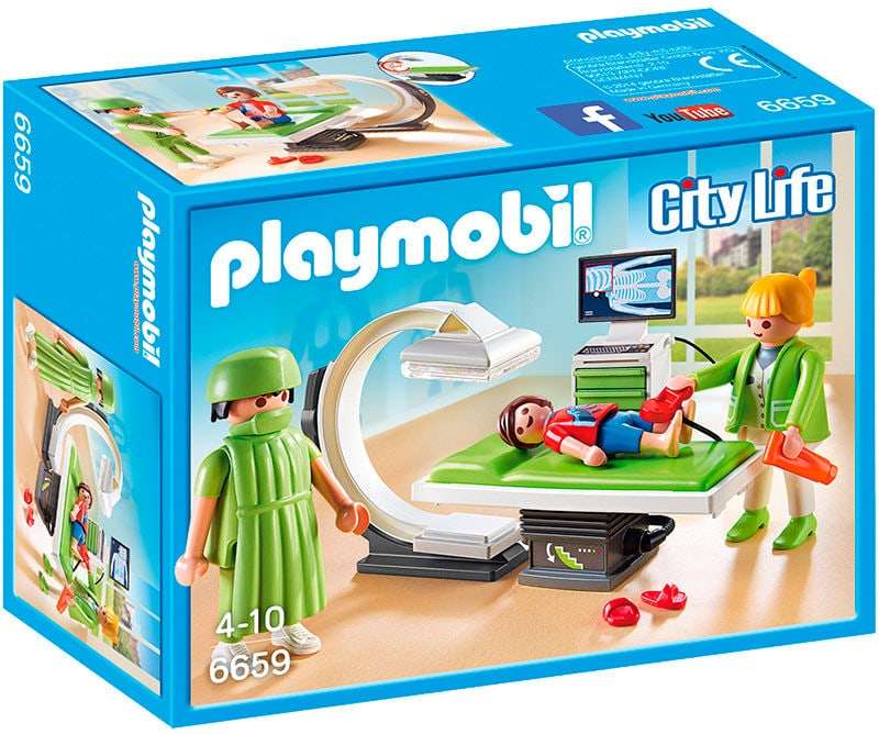 Playmobil City Life Sala raggi X 6659