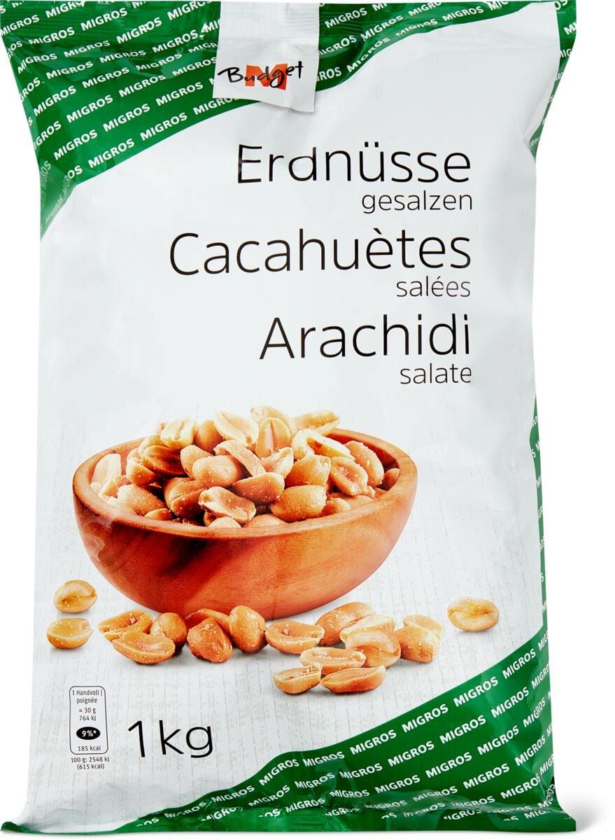 M-Budget Cacahuètes salées