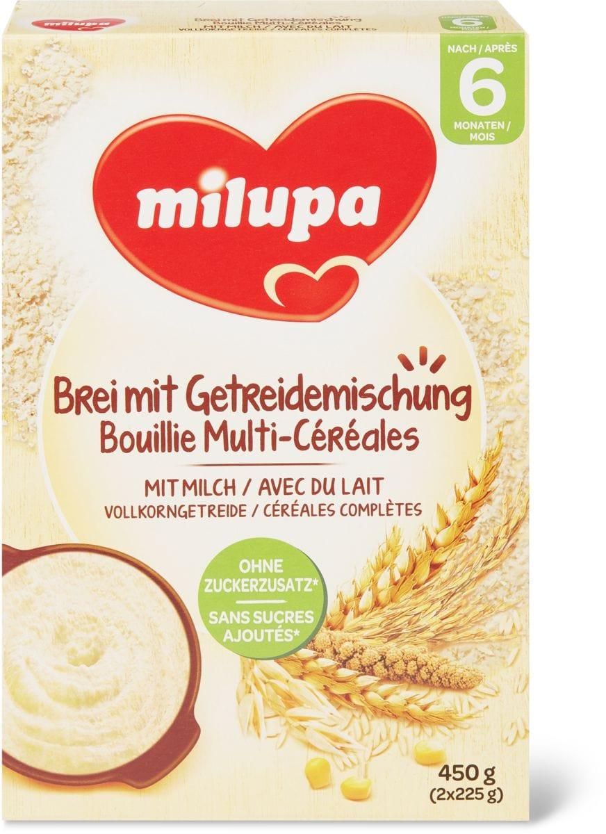 Milupa Brei mit Getreidemischung