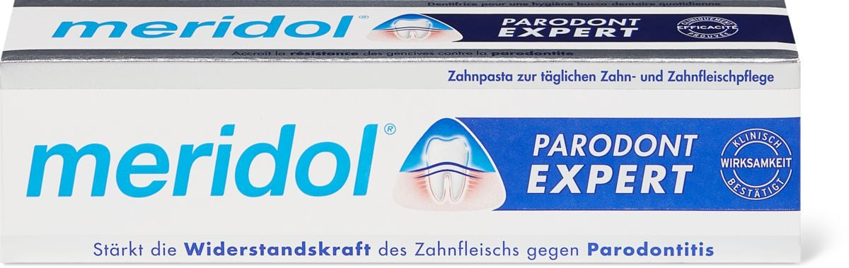 Meridol dentifrice Parodont Expert