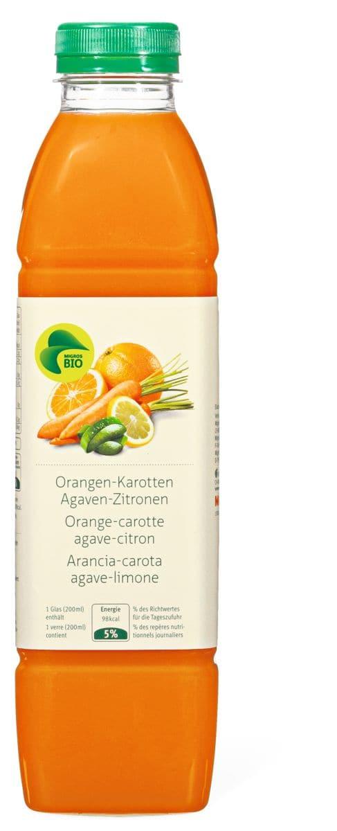 Bio juice Orange-carotte