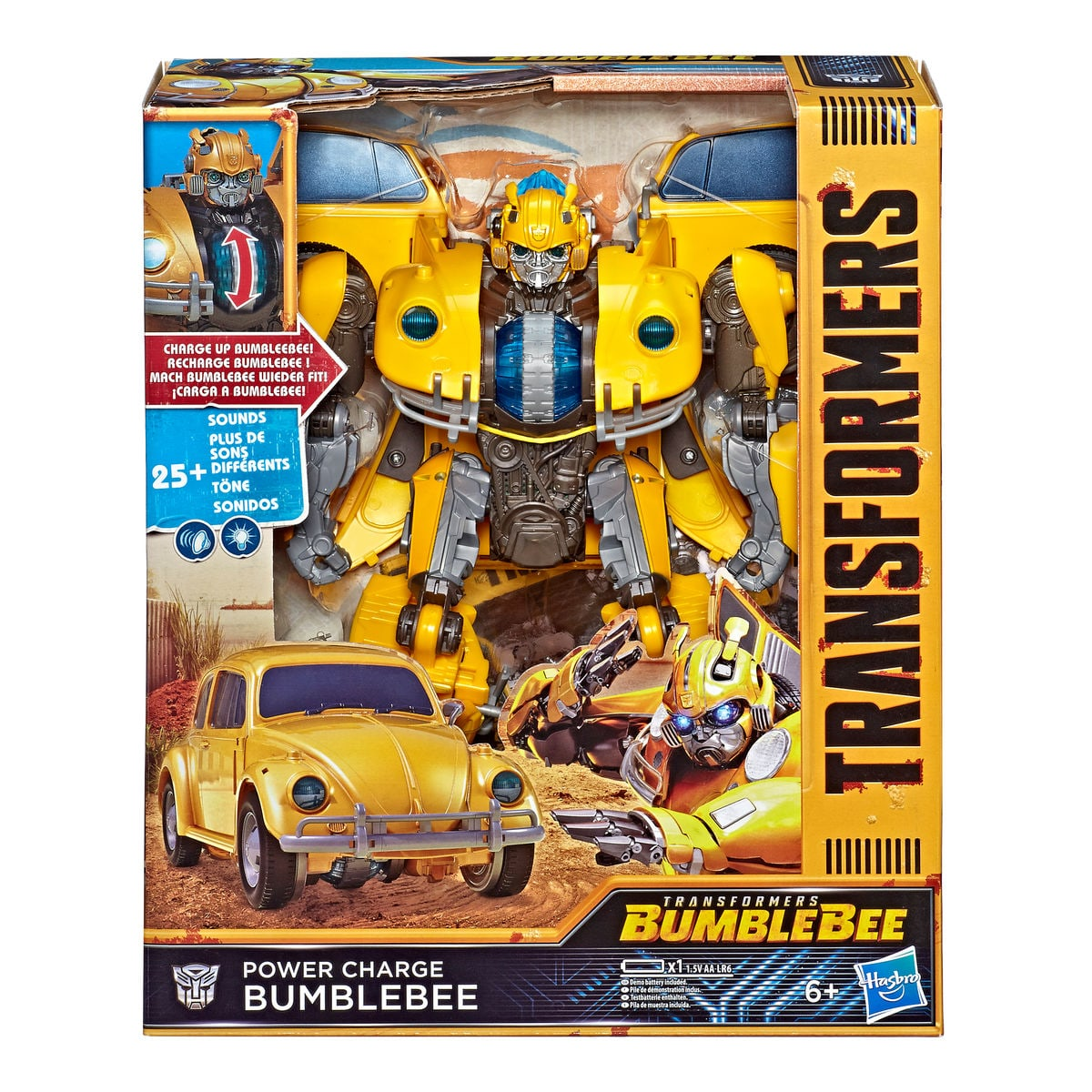 Transformers Movie Power Charge Bumblebee