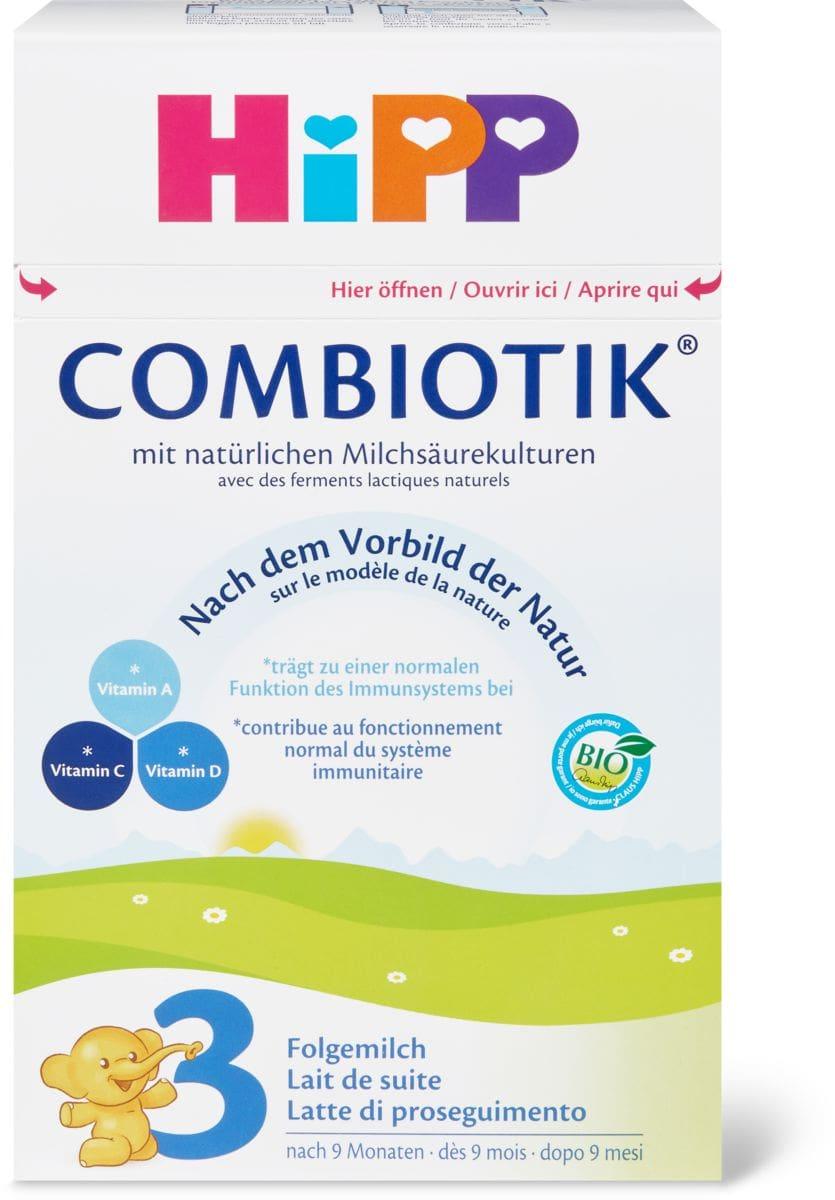 Hipp Bio 3 Combiotik Latte di proseguim.