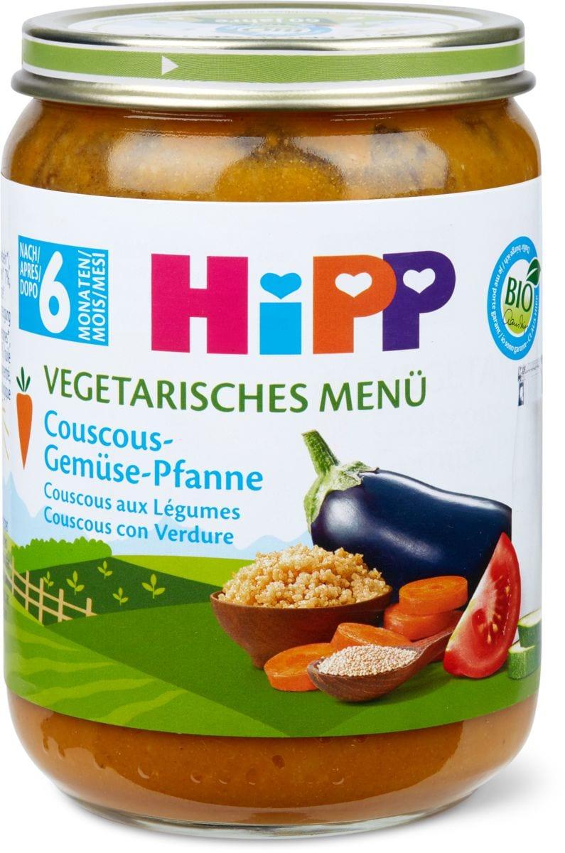 HiPP Couscous aux légumes