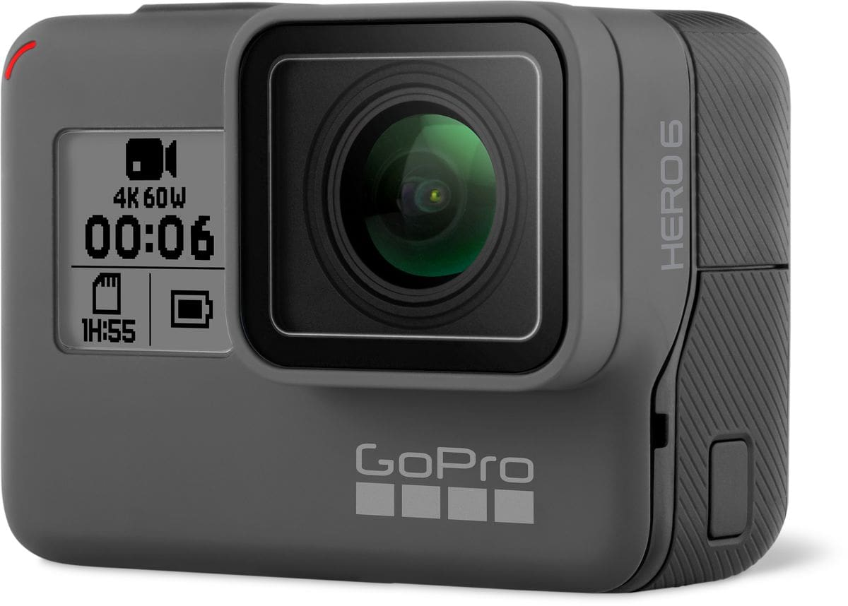 gopro hero 6 black actioncam migros. Black Bedroom Furniture Sets. Home Design Ideas