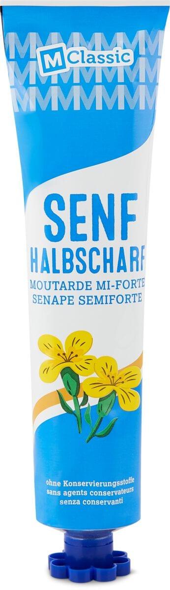 M-Classic Senf halb-scharf
