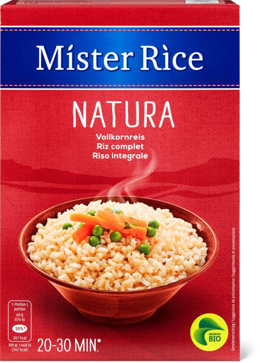Bio Mister Rice Natura Vollkornreis