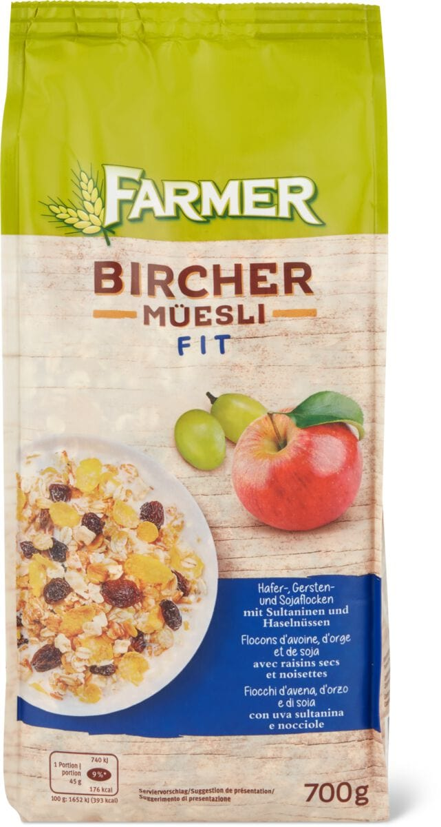 Farmer Birchermüesli Fit