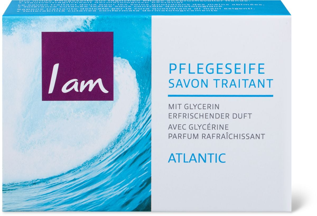 I am Soap Festseife atlantic