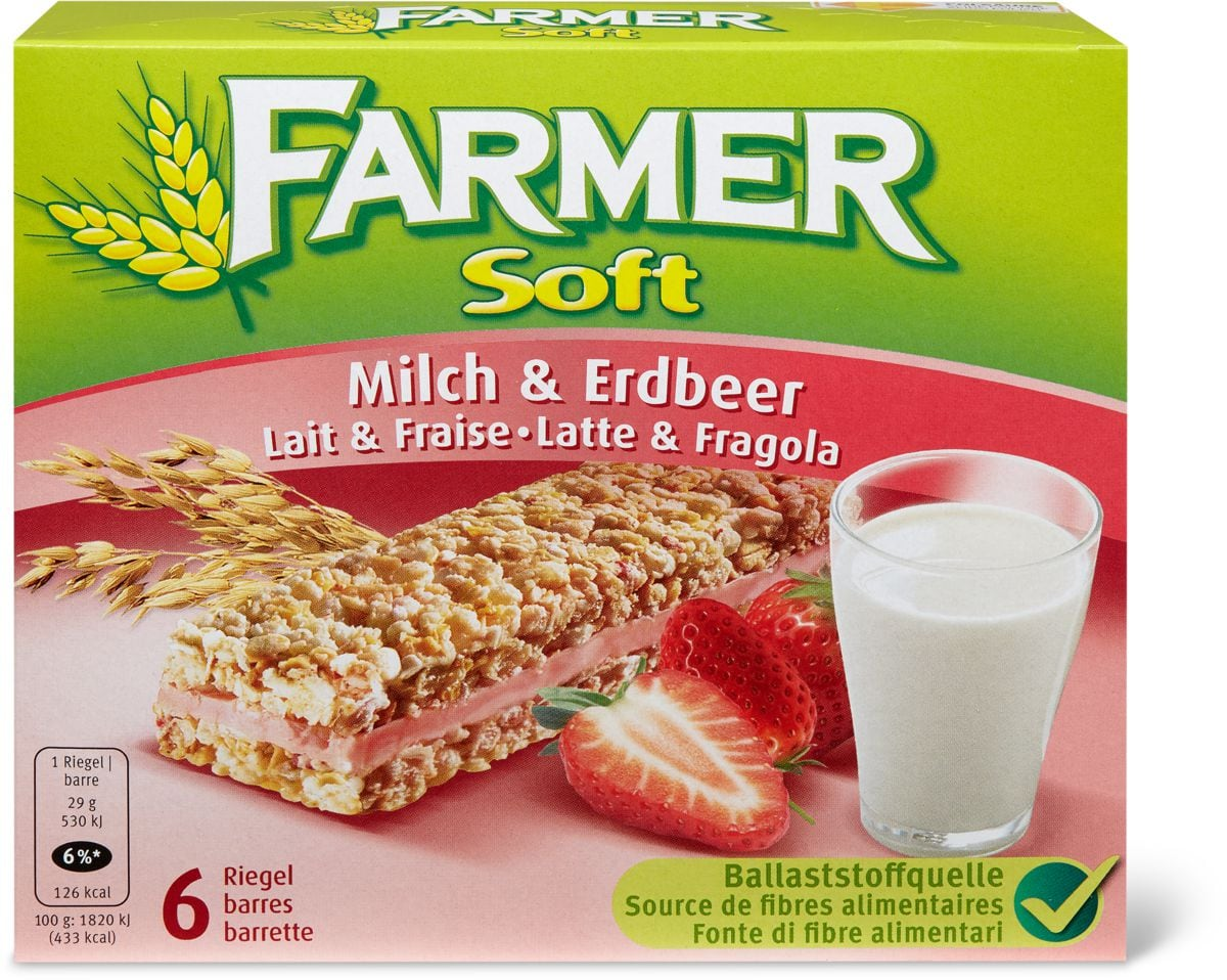 Farmer Soft Lait Fraise