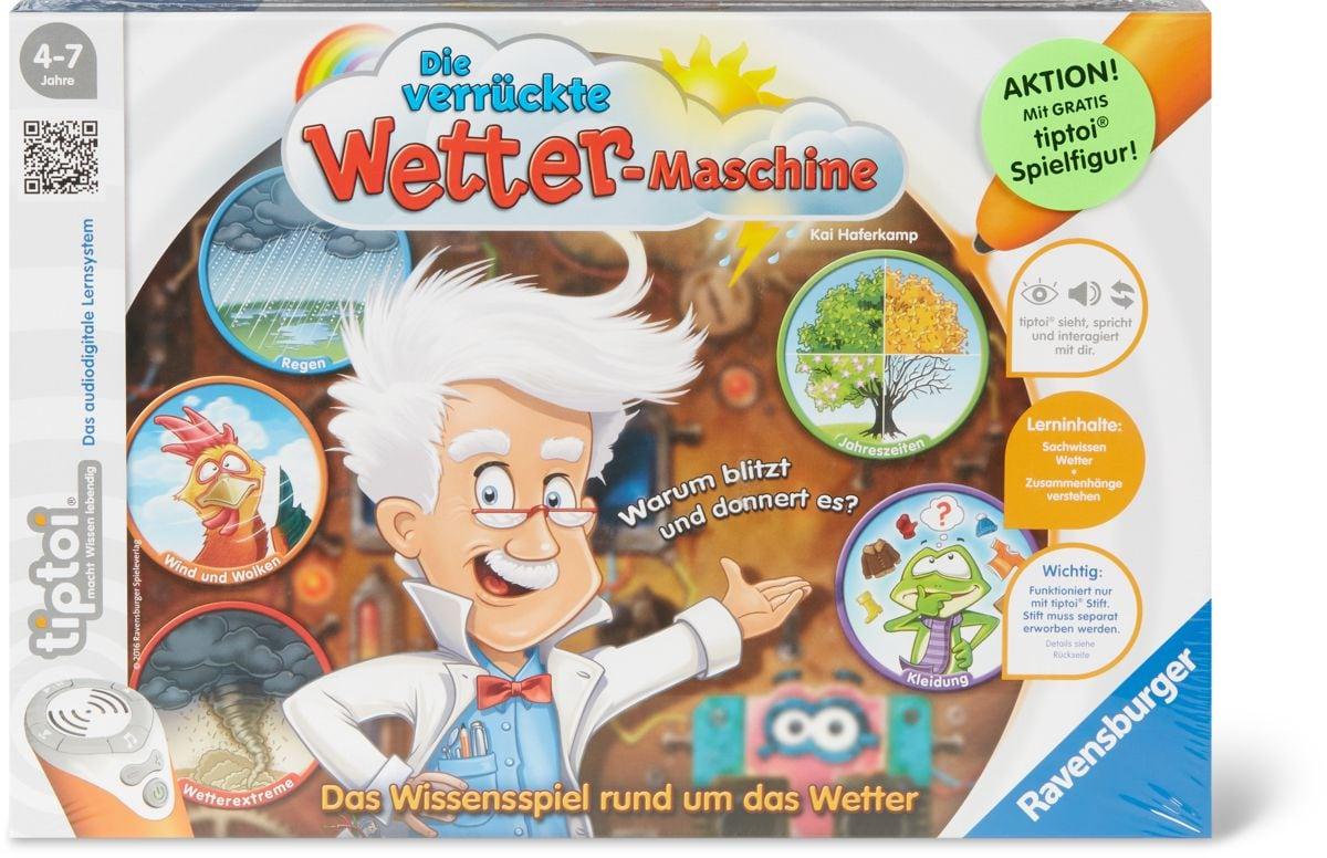 Tiptoi Die verrückte Wettermaschine (D)