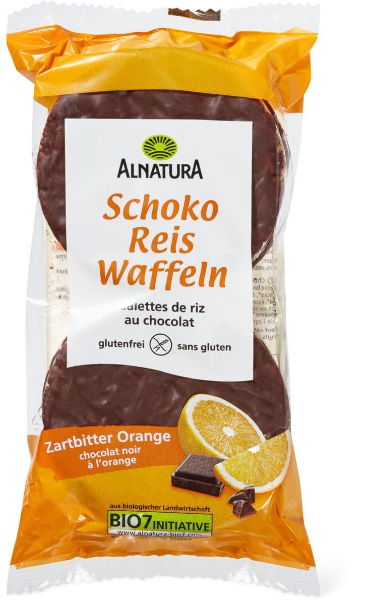 Alnatura Schoko Reiswaffeln Orange