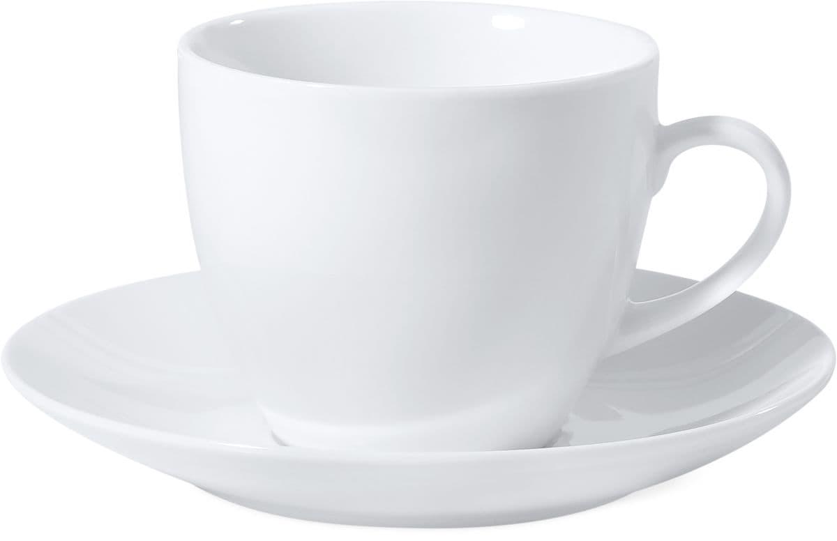 M-Budget PRIMA Kaffeetasse mit Unterteller
