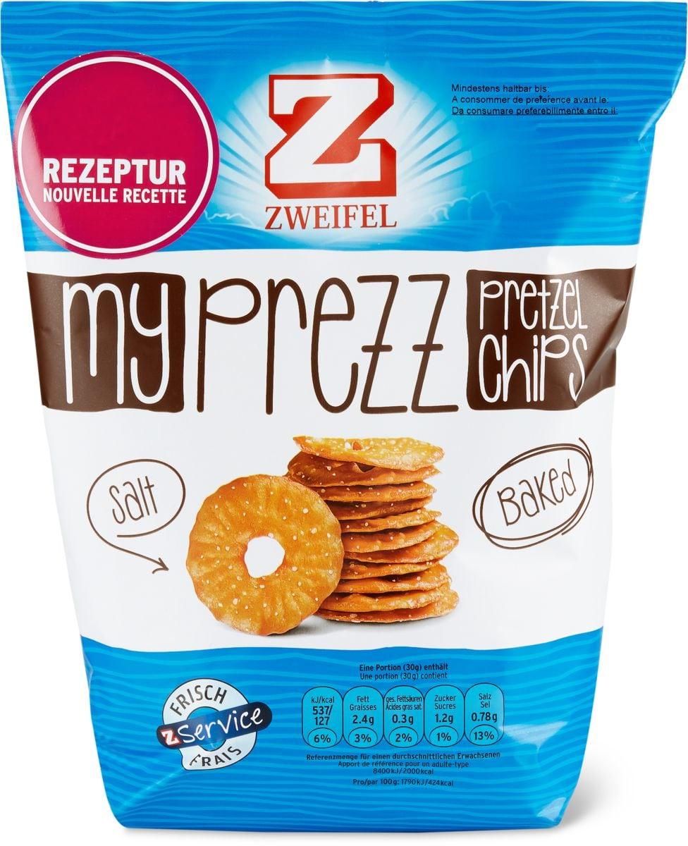 Zweifel MyPrezz Pretztl chips, salt