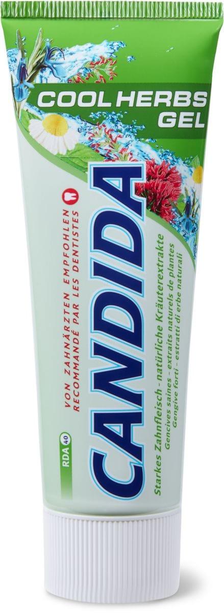 Candida dentifricio Cool Herbs Gel