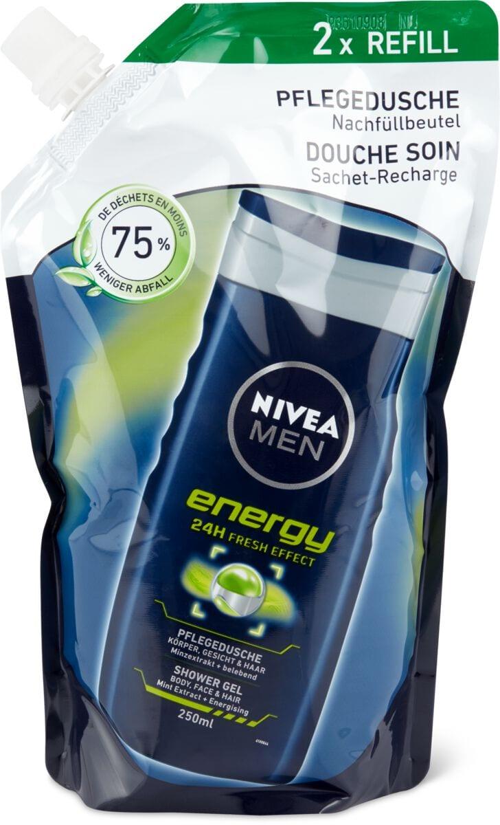 Nivea Men Pflegedusche Energy Nachfüllbeutel