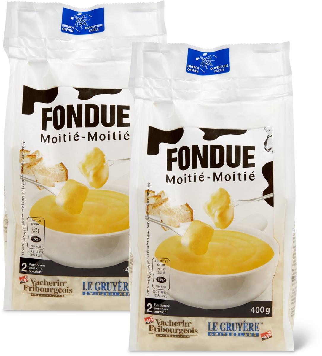 Fondue Moitié-Moitié im Duo-Pack