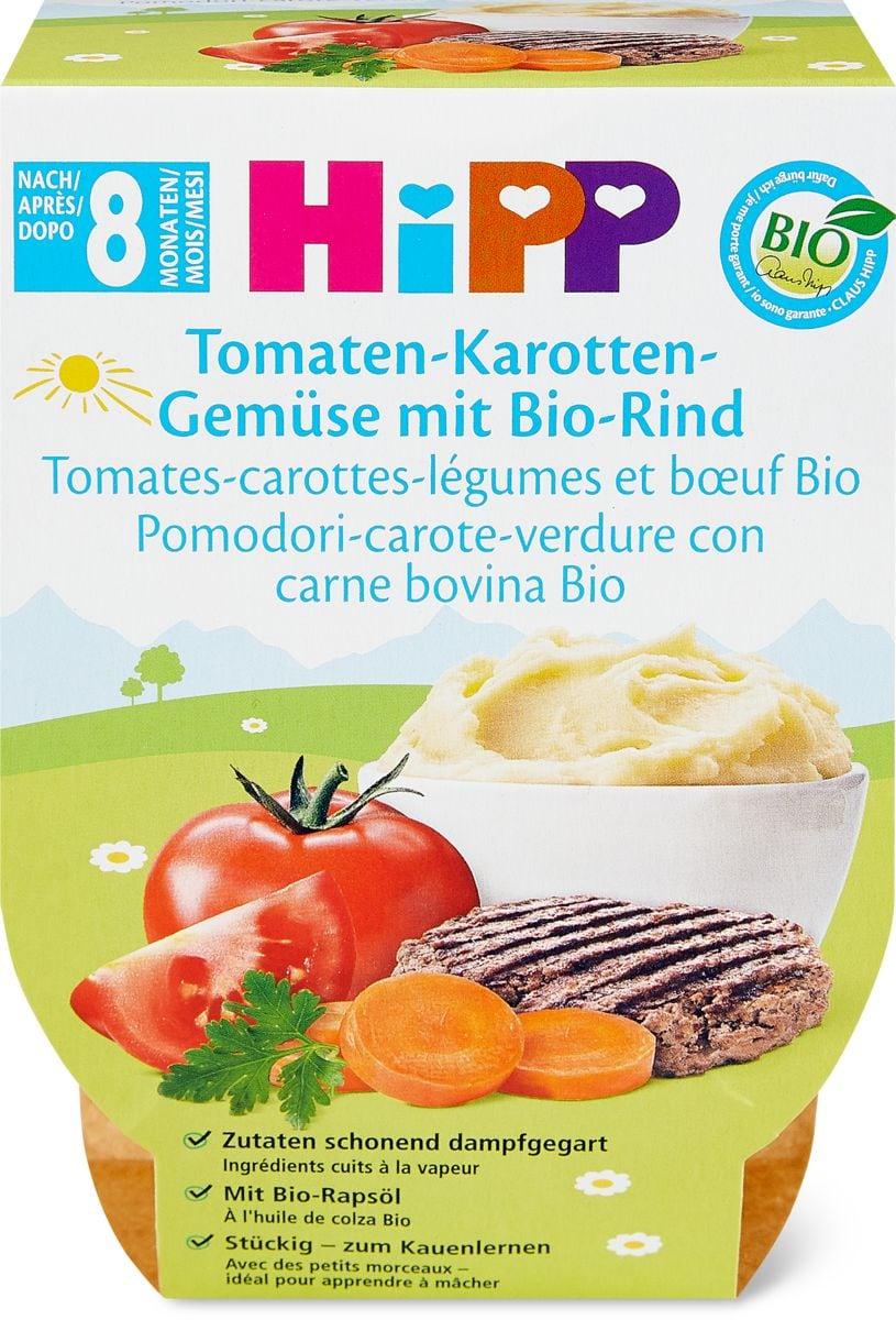 Hipp pomod.-carot. verdura-manzo