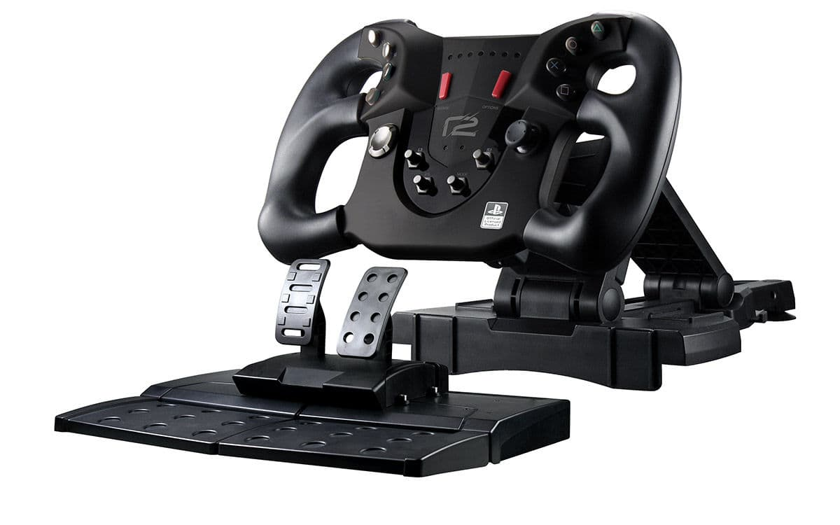 ready2gaming ready2gaming ps4 pace wheel inkl faltbare. Black Bedroom Furniture Sets. Home Design Ideas