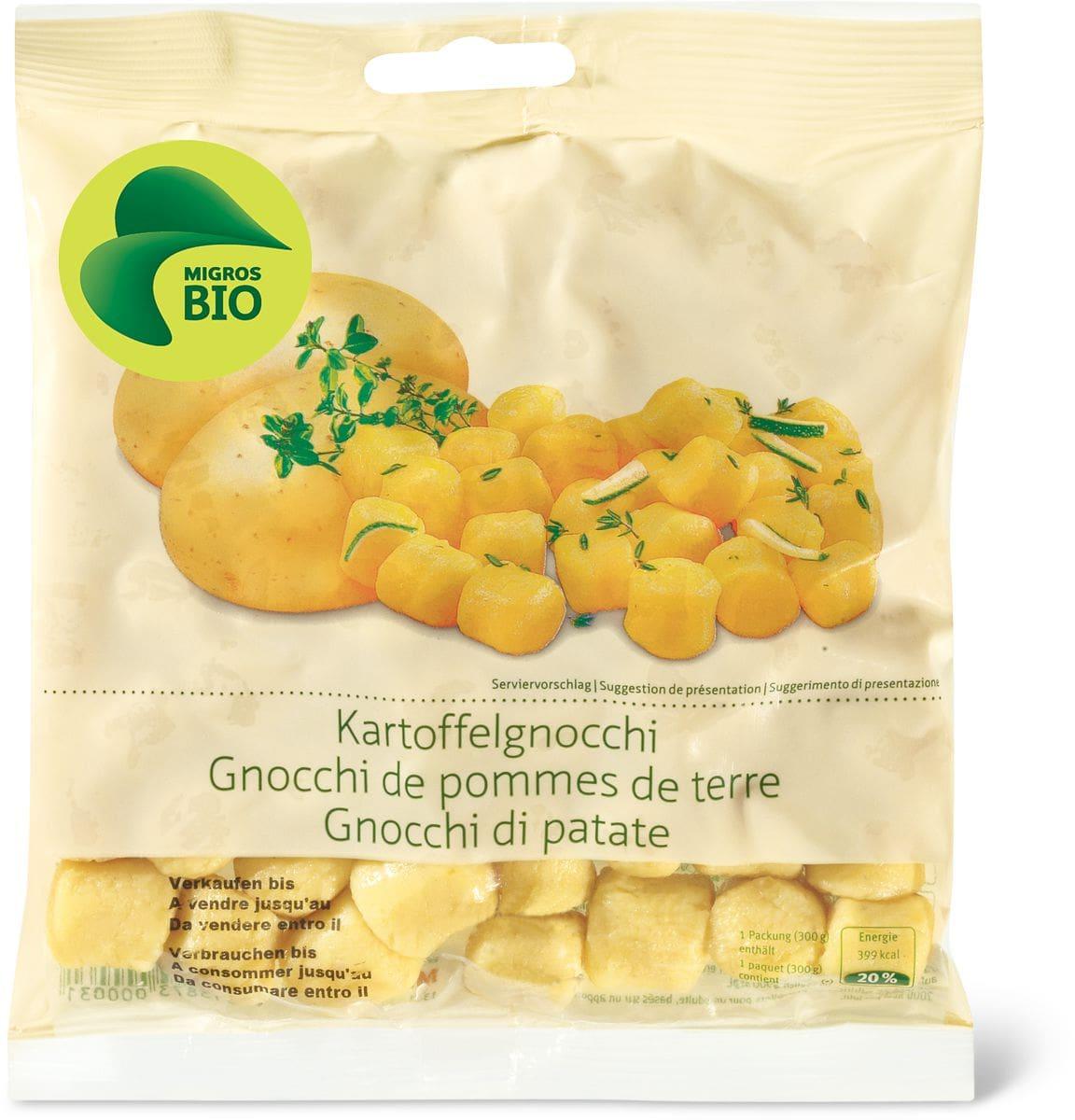 Bio Gnocchis pomme terre