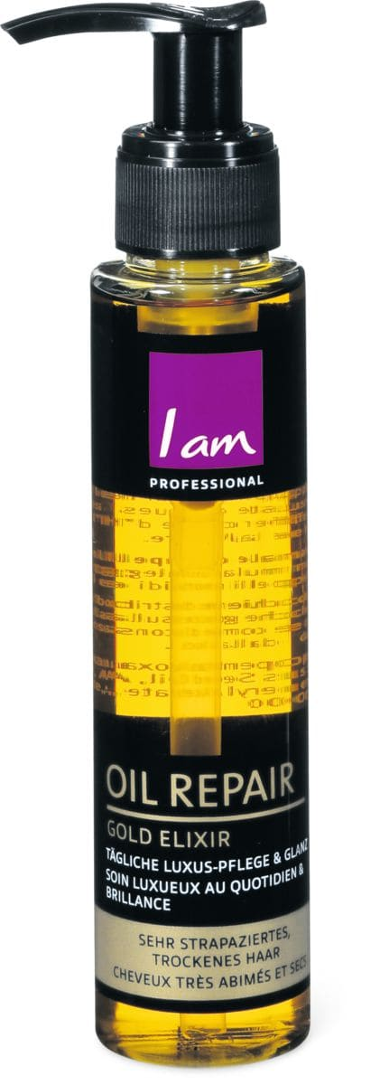 I am Professional Oil Repair Gold Elixir