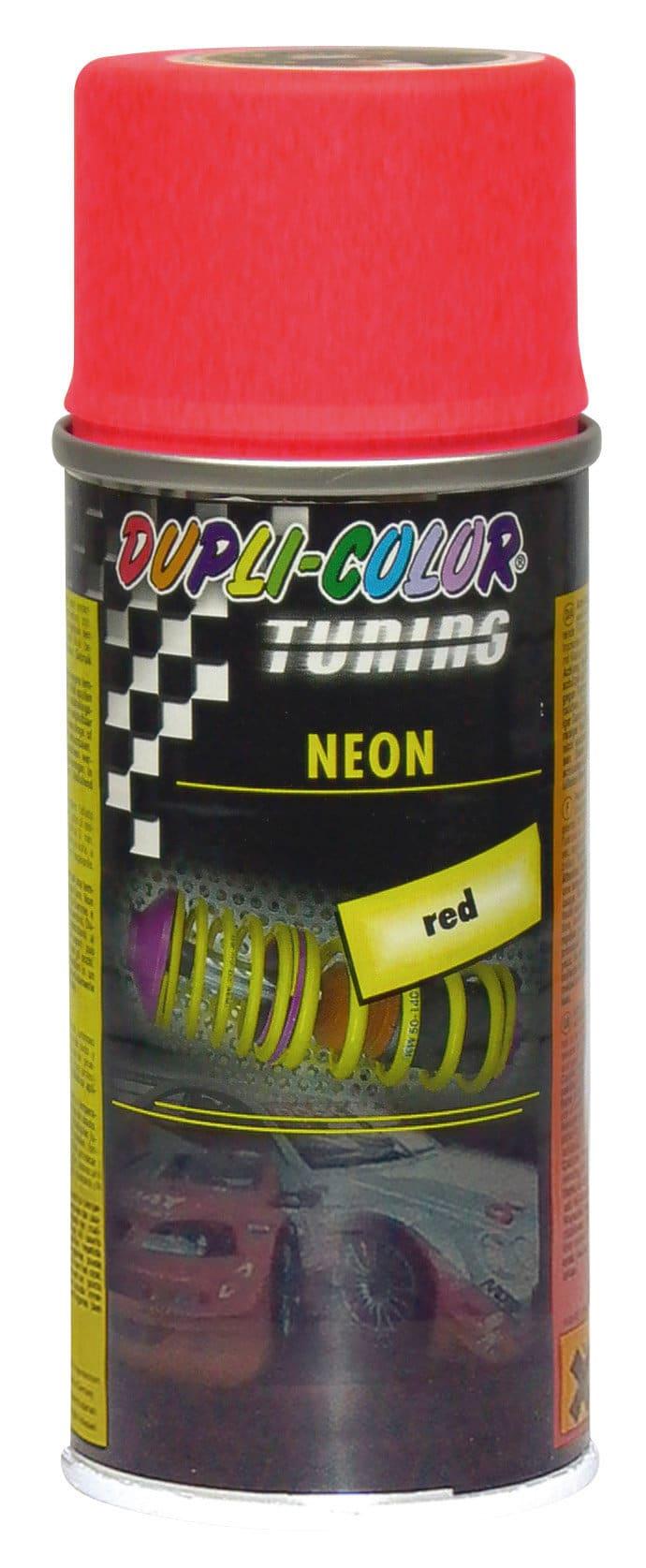 Dupli-Color Neonspray rouge 150 ml Peinture aérosol | Migros Migipedia
