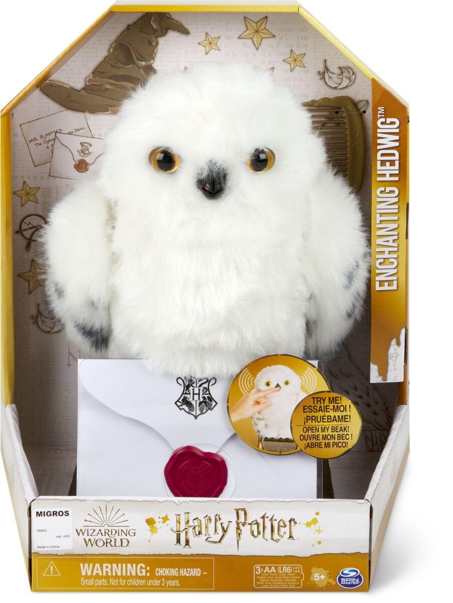Spin Master Harry Potter Hedwig feat. Owl Funktionsplüsch