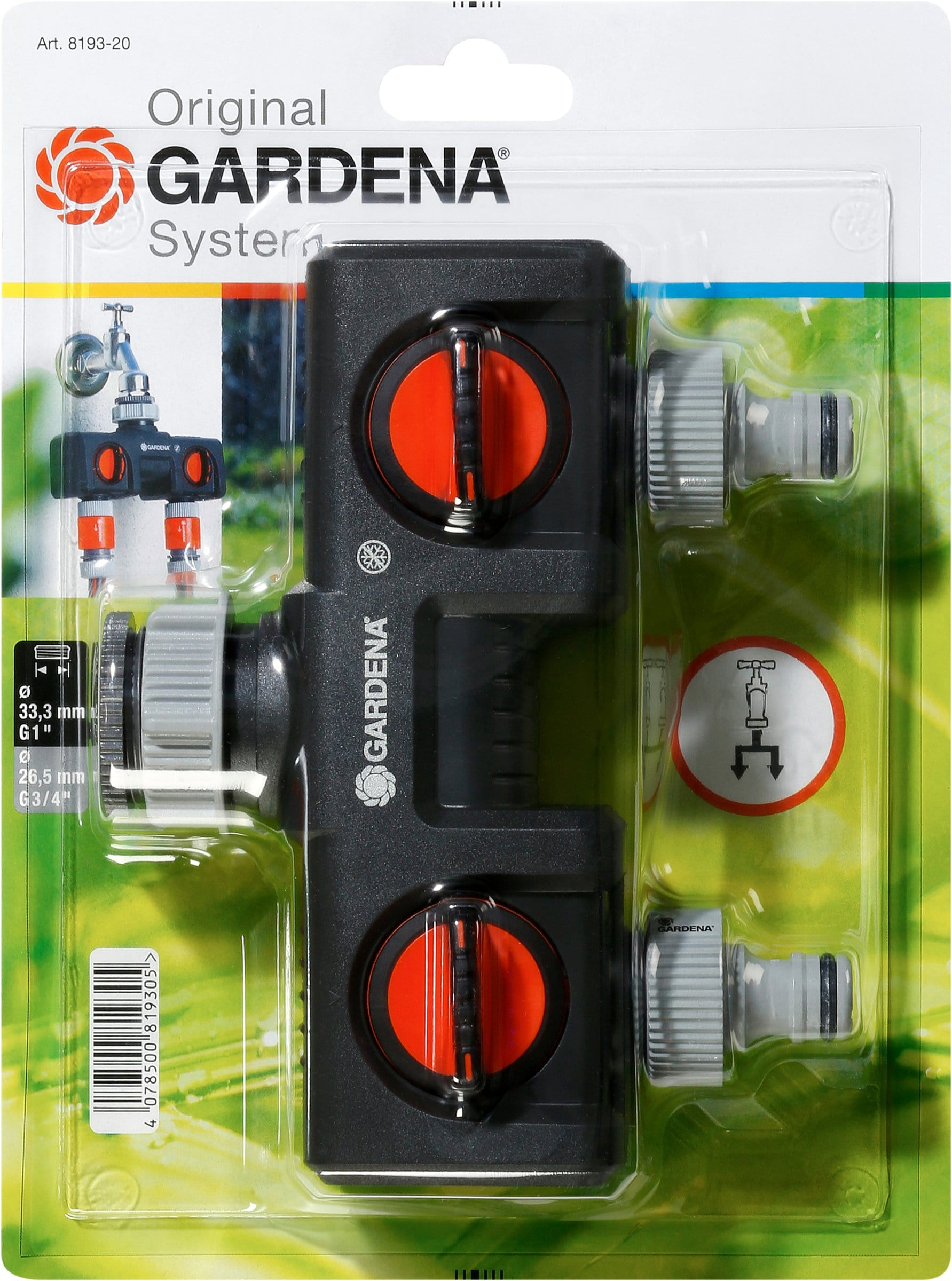Gardena Original GARDENA System Sélecteur