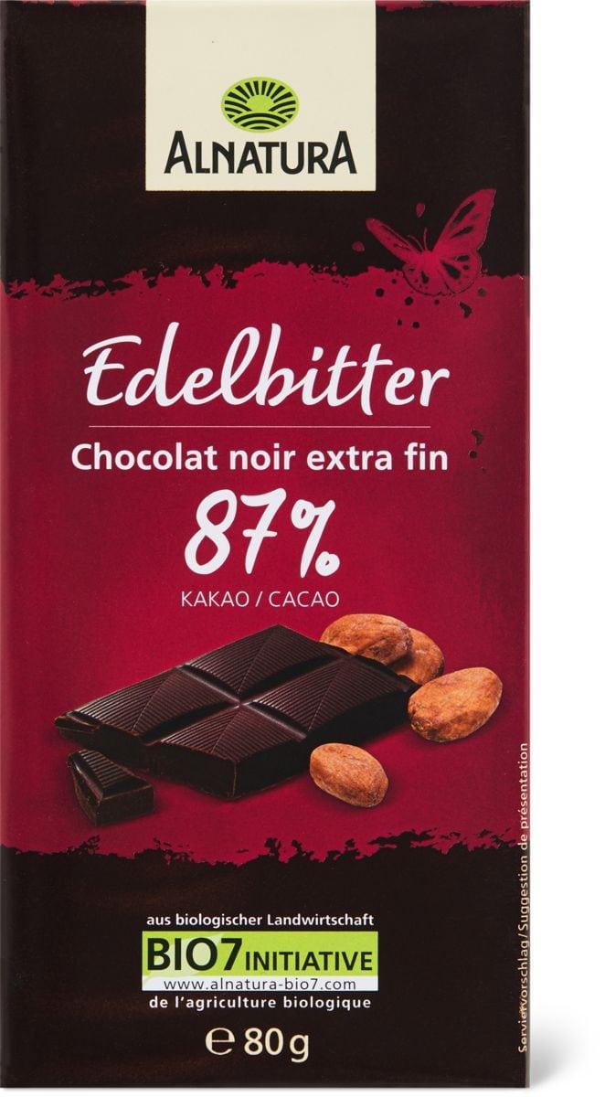 Alnatura Edelbitter 87% Kakao